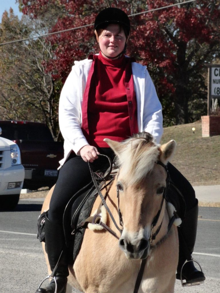 Annie - Horseback Christmas Caroling
